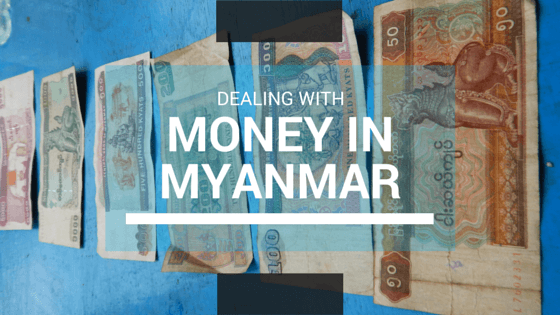 Burmese Kyat, pronounced 'chat'.