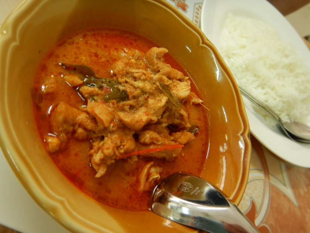 Panang Curry with a flavorful Muslim twist.