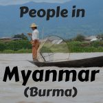 People in Myanmar (Burma)
