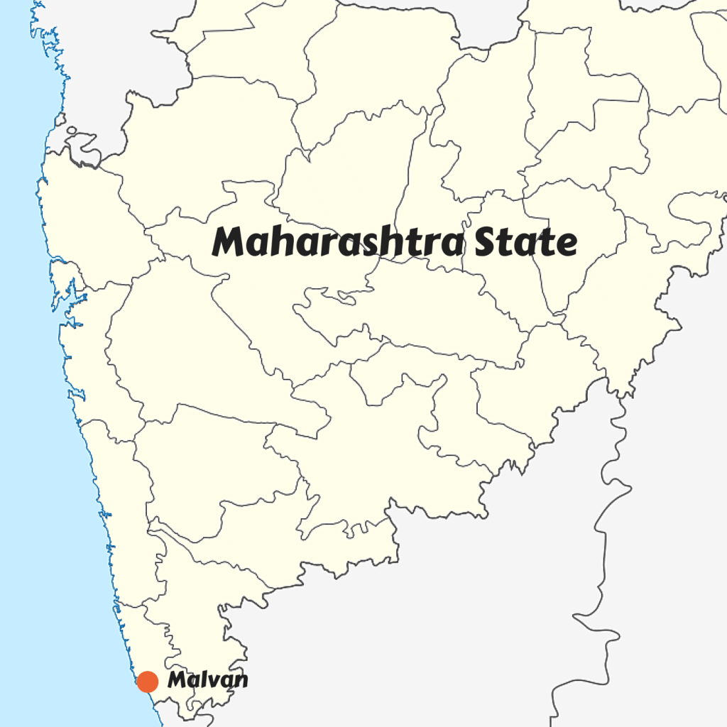 """India Maharashtra location map"" by Maximilian Dörrbecker."