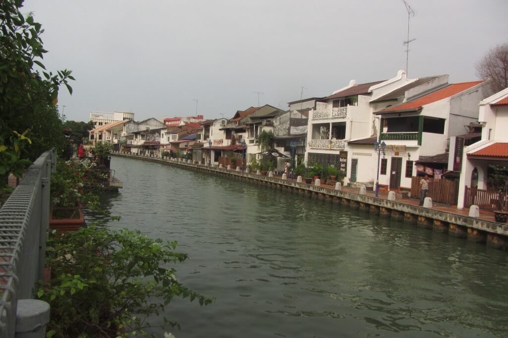 There was a lovely river to stroll along lined with cute houses, shops and cafes.
