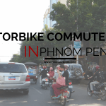 Motorbike Commute to Work in Phnom Penh