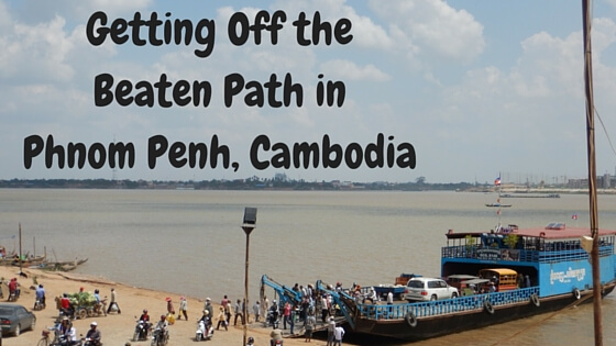 getting off the beaten path in Cambodia