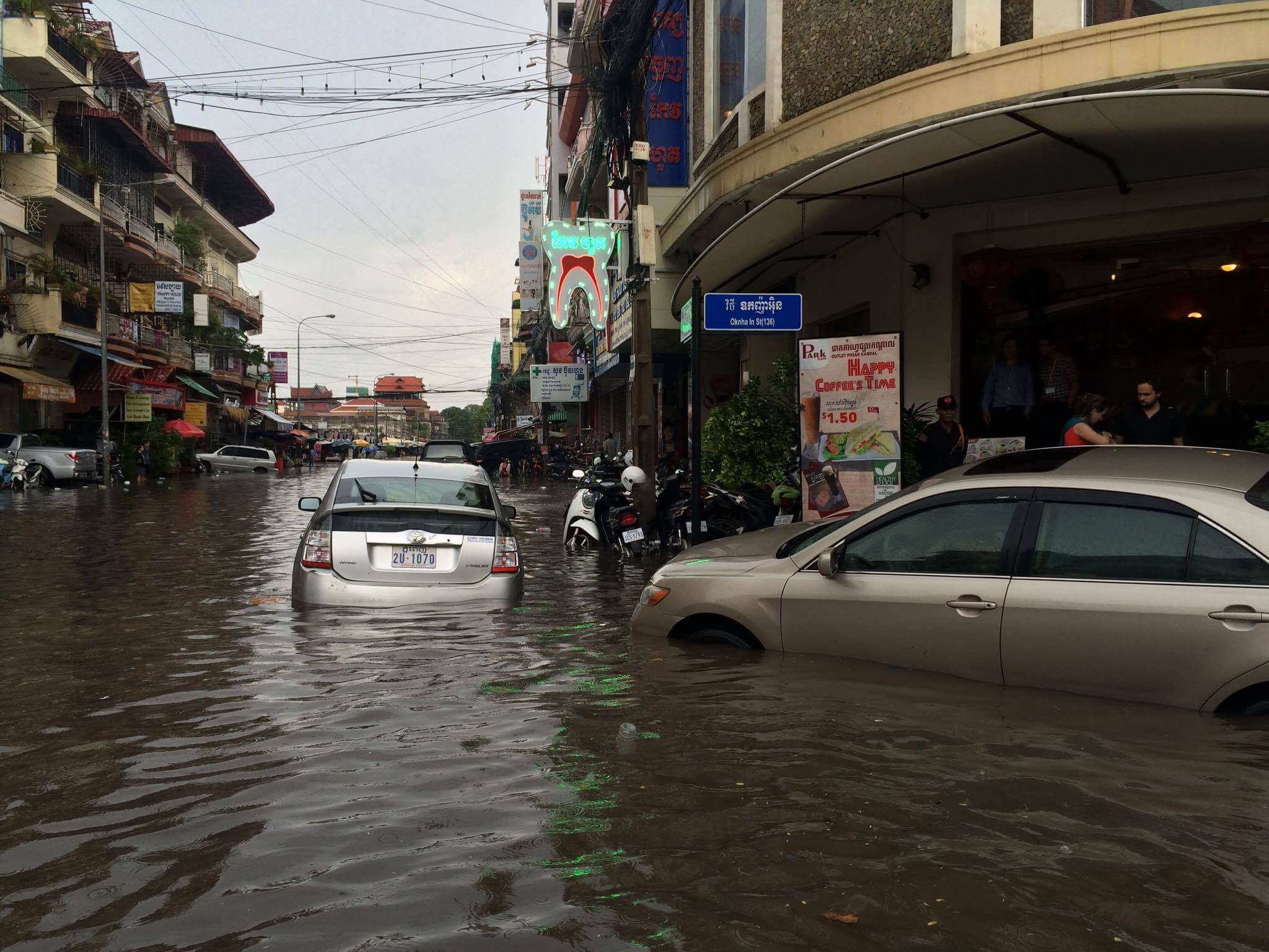 flood in Phnom Penh