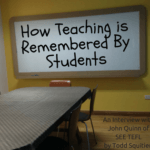 How Teaching is Remembered By Students