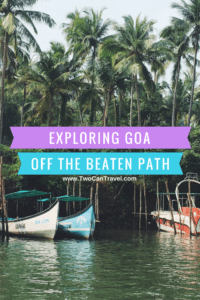 getting off the beaten path in goa india