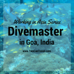 Working in Asia: Divemaster