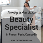 Working in Asia: Beauty Specialist