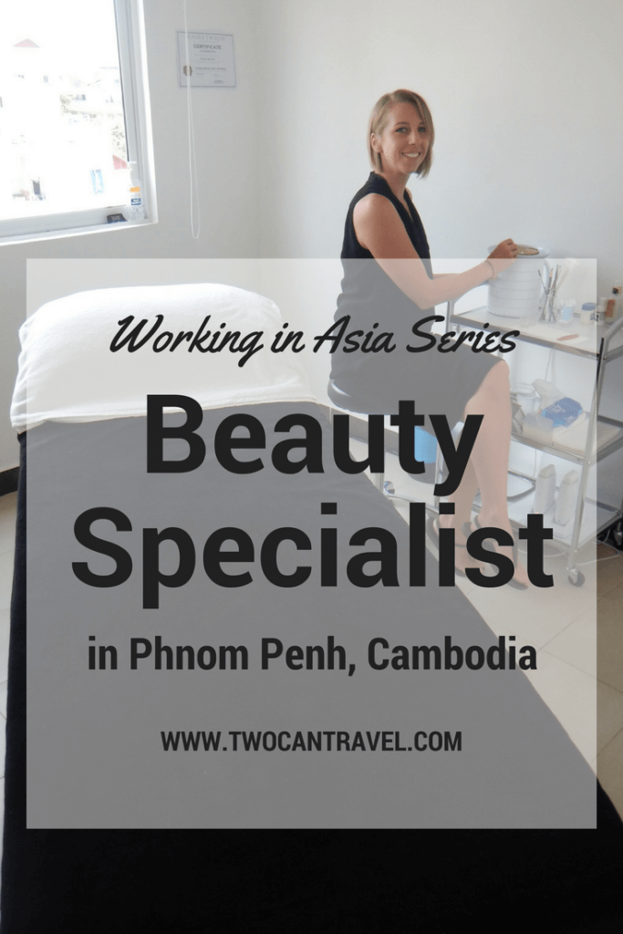 working in asia beauty specialist