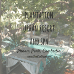 The Plantation Urban Resort and Spa Review