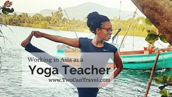 Working in Asia Yoga Teacher