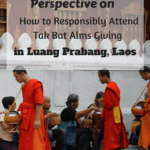 A Chat With Monks About Tak Bat Alms Giving in Luang Prabang, Laos