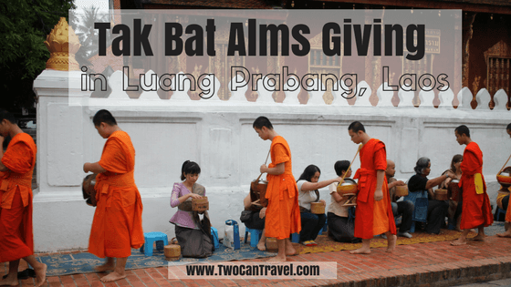 Tak Bat Alms Giving Luang Prabang Laos