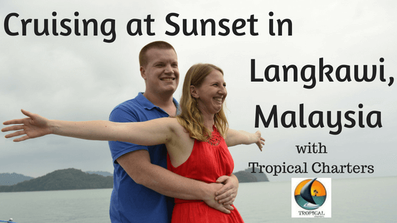 sunset cruise in Langkawi, Malaysia with Tropical Charters