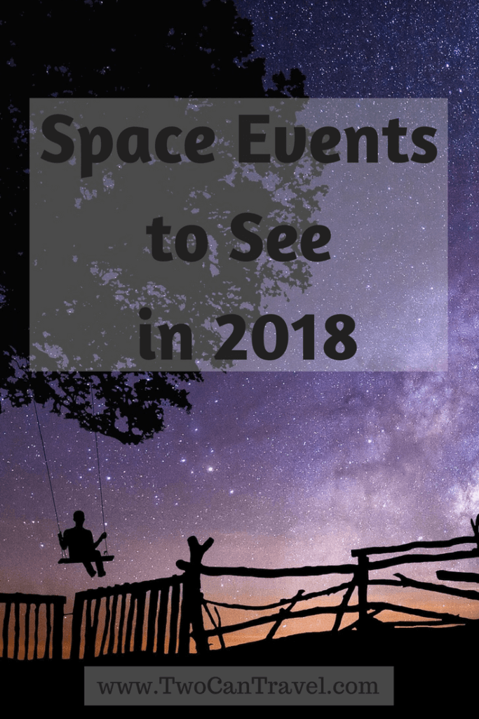 Space events to see in 2018